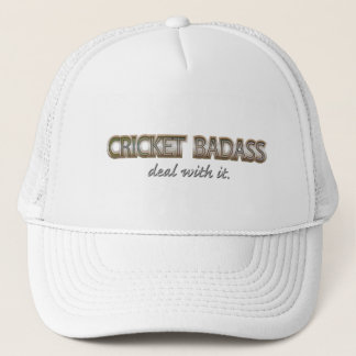 CRICKET TRUCKER HAT