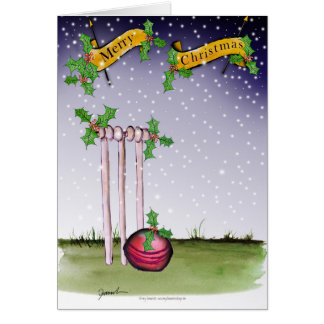 cricket xmas card