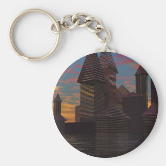 CricketDiane Castle City Rising from the Sea Key Chains
