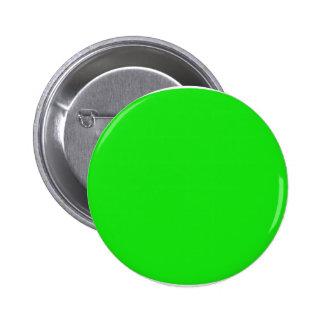 cricketdiane circle 1 neon green - 2 6 cm round badge