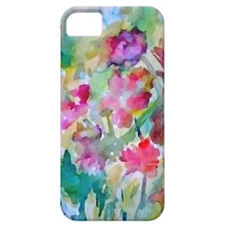 CricketDiane Flower Garden Watercolor Abstract Barely There iPhone 5 Case