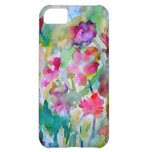 CricketDiane Flower Garden Watercolor Abstract Cover For iPhone 5C