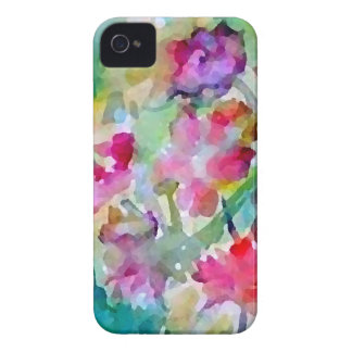 CricketDiane Flower Garden Watercolor Abstract iPhone 4 Case