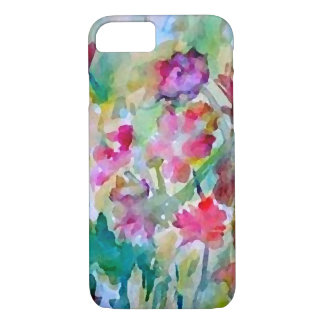 CricketDiane Flower Garden Watercolor Abstract iPhone 7 Case