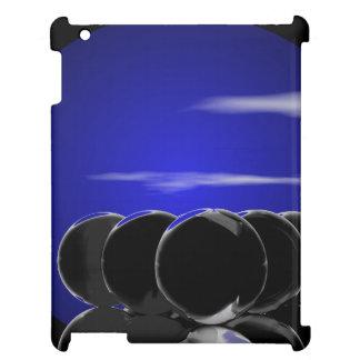 CricketDiane iPad Case Black Blue Surreal Balls