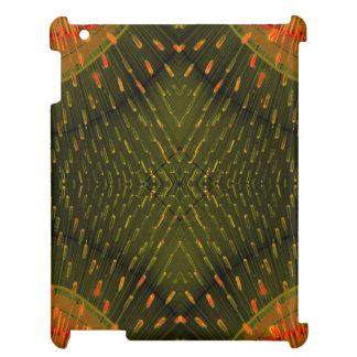 CricketDiane iPad Case Modern Art Abstract Orange