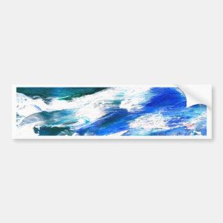 CricketDiane Ocean Art - Moon Song Sea Waves Bumper Sticker
