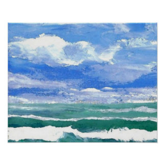 CricketDiane Ocean Poster - Awakening 1