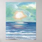 CricketDiane Ocean Poster - Beach Sunset