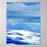 CricketDiane Ocean Poster Distant Sky