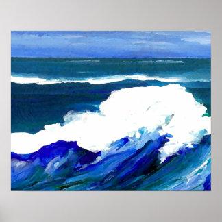 CricketDiane Ocean Poster - Standing Wave 1