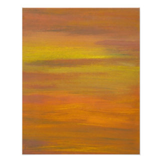 CricketDiane Ocean Poster - Sunset s Golden Colors