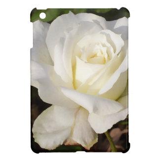 CricketDiane Romantic White Rose Blossom iPad Mini Cover