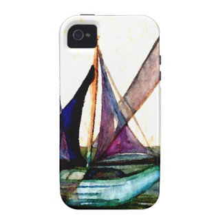 CricketDiane Sailboat Abstract 1 Sailing Vibe iPhone 4 Case