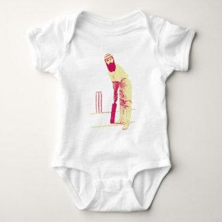 cricketer vintage baby bodysuit