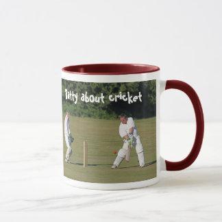 Cricketer's mug