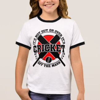 Cricketer's Off The Mark Cricket Ringer T-Shirt