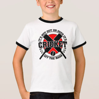 Cricketer's Off The Mark Cricket T-Shirt