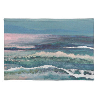 Cricket's Ocean - Beach Seascape Placemat