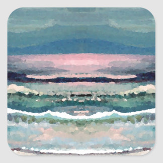 Cricket's Ocean - Beach Seascape Stickers