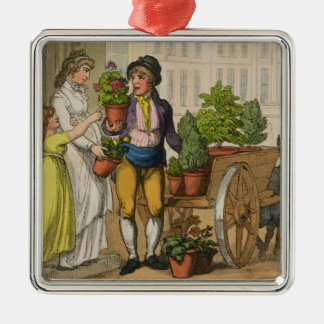 Cries of London: The Garden Pot Seller, 1799 (colo Christmas Ornament