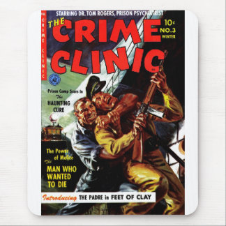 Crime Clinic 3 - The Man Who Wanted to Die Mousepads