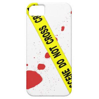 Crime Scene Do Not Cross iPhone 5 Cases