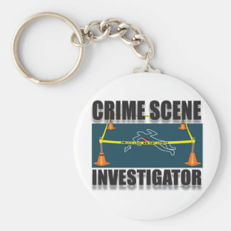 CRIME SCENE INVESTIGATOR KEY CHAIN