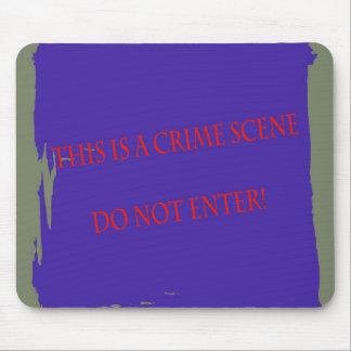 Crime Scene Mousepad