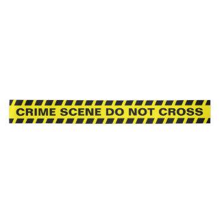 Crime Scene Satin Ribbon