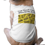 Crime Scene XS-3XL Pet T-shirt