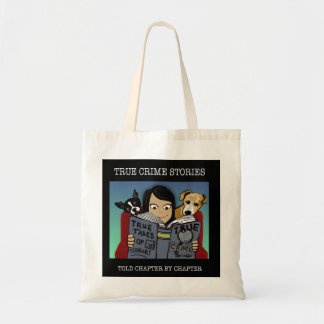 Crime Stories Budget Tote Bag