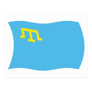 Crimean Tatars Flag Postcard