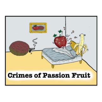 Crimes of Passion Fruit Zazzle Postcard