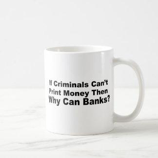 Criminal Banks Basic White Mug