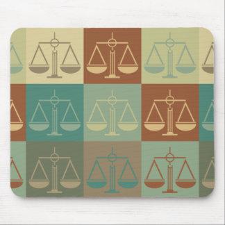 Criminal Justice Pop Art Mouse Pad