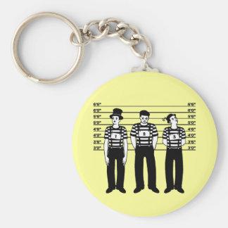 Criminal Mimes Key Ring