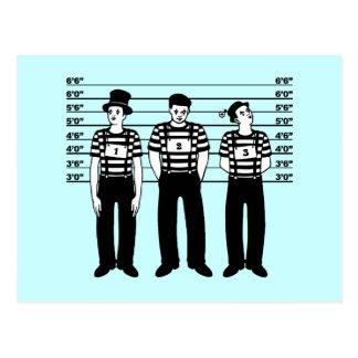 Criminal Mimes Post Card