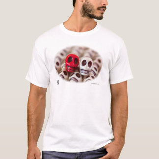 Crimson And Cream T-Shirt
