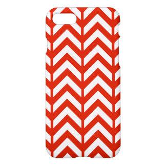 Crimson Chevron 3 iPhone 7 Case