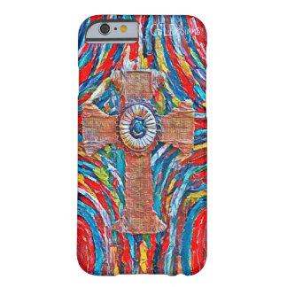 Crimson Cross- cellphone case