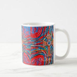 Crimson Cross Coffee Mug