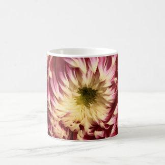crimson dahlia coffee mugs