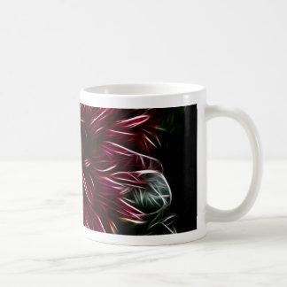 Crimson Flower Coffee Mug