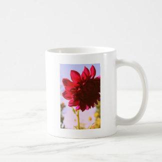 Crimson Flower Mug