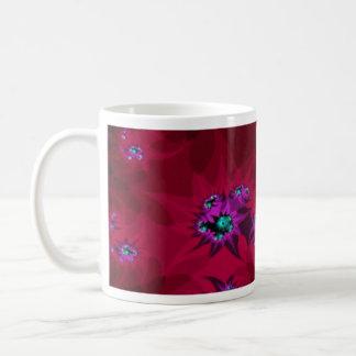 Crimson Fractal Mug