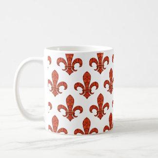 Crimson Garden Fleur Basic White Mug