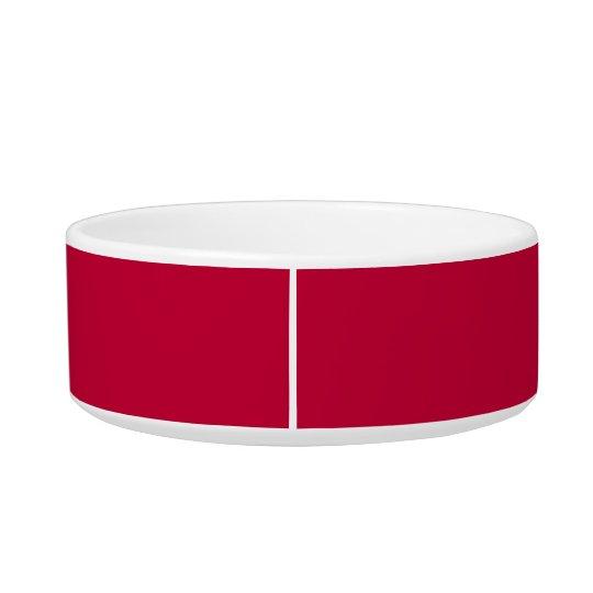 Crimson Glory Cute Monochrome Cat Bowl