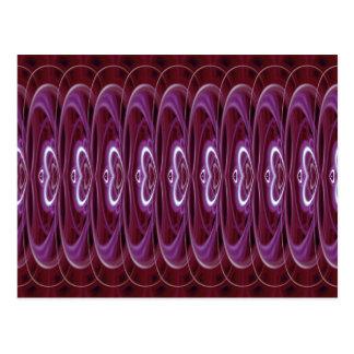 Crimson Hearts 9024b Postcard
