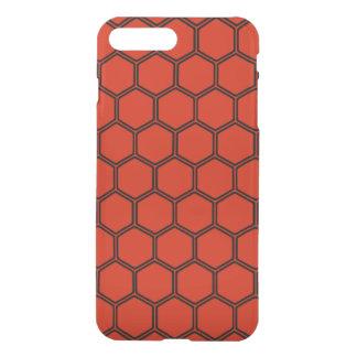 Crimson Hexagon 3 iPhone 7 Plus Case